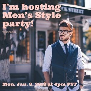 Other - 👔 Co-Host for Men's Style Wear Posh Party! 👔